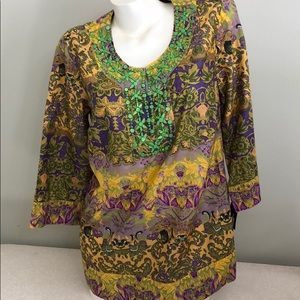 NWT STYLE & CO COLORFUL TUNIC 8